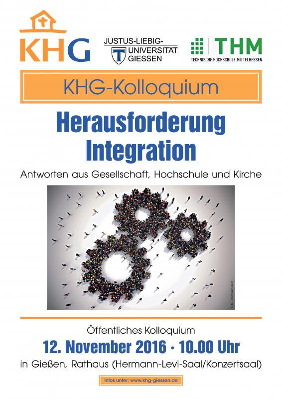 Khg Kolloquium 2016 Herausforderung Integration Ergebnisse Fazit